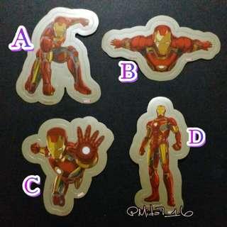 HK Disneyland「Iron Man」貼紙