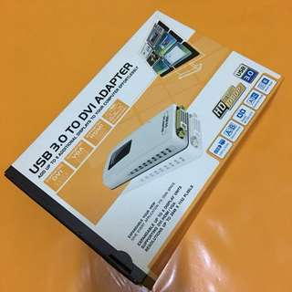 DVI from USB Display adopter