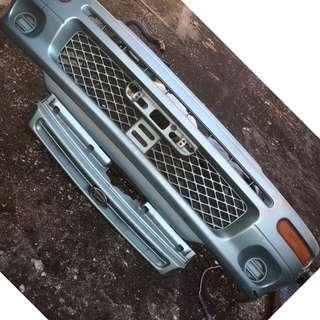 Bumper depan Daihatsu Charade Espri