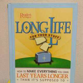 Long Life for your Stuffs