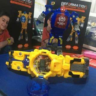 Transformers electeonic watch