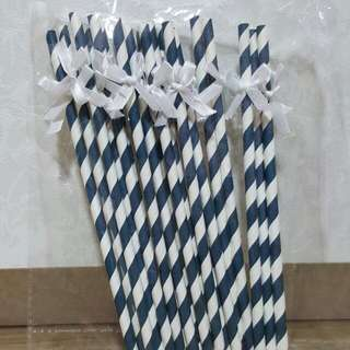 Ribbon Paper Straws