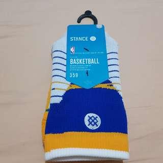 Stance Fusion Basketball Socks Size 6-8.5