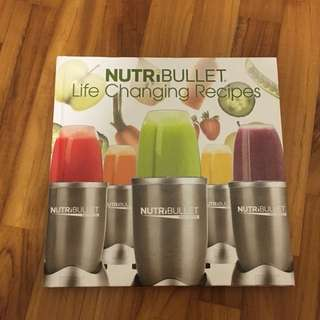 Nutribullet Smoothie & Juice Recipes Book/ Cookbook