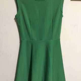 Green GG5 dress