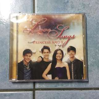 Love Songs from Princess and I - CD -Intact with plastic cover