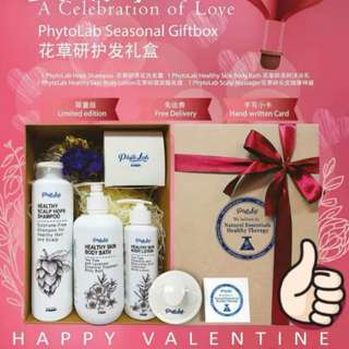 (PO) Happy Valentine Promotion!! PhytoLab Series - shampoo/body bath/lotion/scalp massager