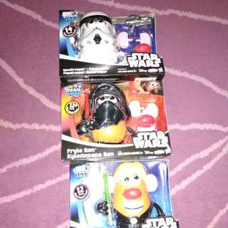 Starwars  potato head