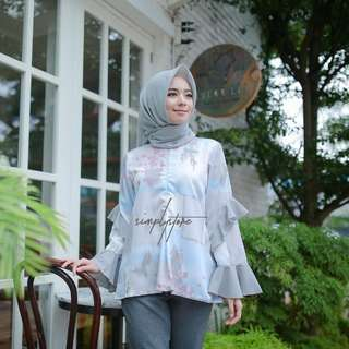 Ruffle top by simply.store