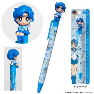 (可面交)美少女戰士文具第五彈內部戰士Sailor Mercury人偶原子筆