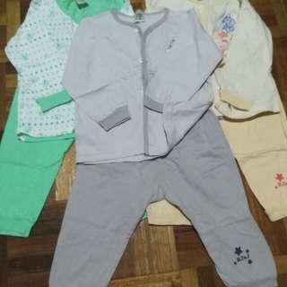 3 set Baby Pyjamas