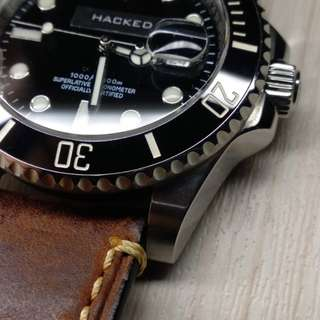Hacked Automatic Watch