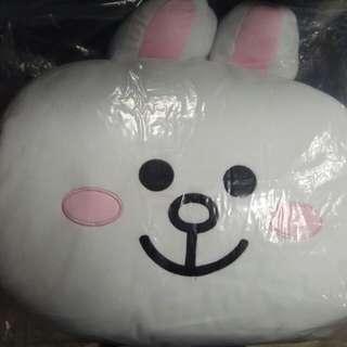 Line Friends兔兔大型抱枕