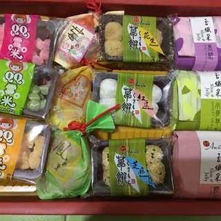 🚚 🦀️年節禮盒🦀️ 長輩最愛 麻糬和菓子水菓子禮盒 送客戶