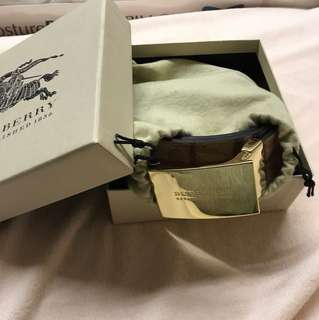 Burberry Belt size 80