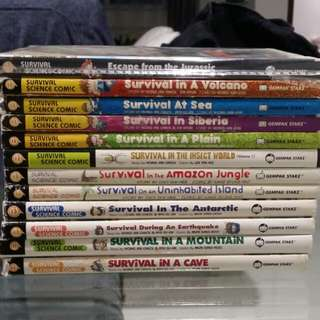 Survival story books