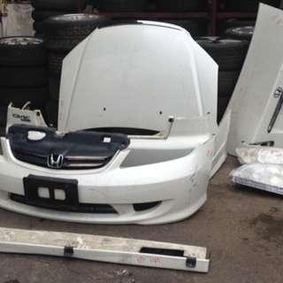 Civic ET2 Face Lift Body Parts Complete