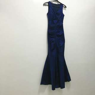 mermaid cut gown for rent