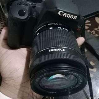 Canon Rebel T5i with EF-S 18-135 STM Lens (18Megapixels) with box.