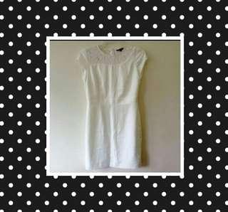 EssenXa Cream Colored Dress