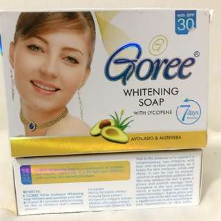 AUTHENTIC GOREE WHITENING SOAP