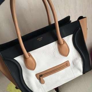 Celine mini luggage 90%new 大平賣