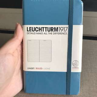 Leuchtturm 1917 A6 pocket hardcover notebook