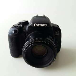 DSLR Canon EOS 650D