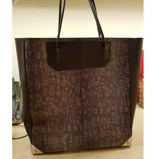 Alexander Wang leopard print bag