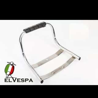 Vespa px rear pillion handle rail