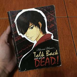 Wattpad Book: Talk Back and You're Dead by Alesana Marie