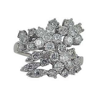 【久大御典品J30681】天然鑽石戒指 閃閃發光 鑽石39粒