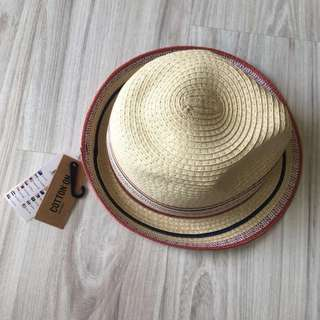 Woven hat for beach vacay