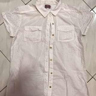 Mango Kids - white shirt