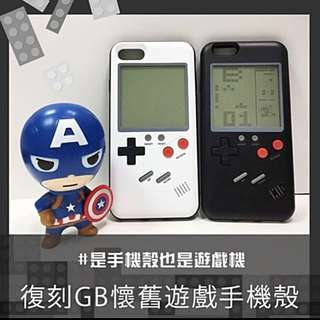 I phone 復古遊戲機保護殻(包郵)(內置多款遊戲)