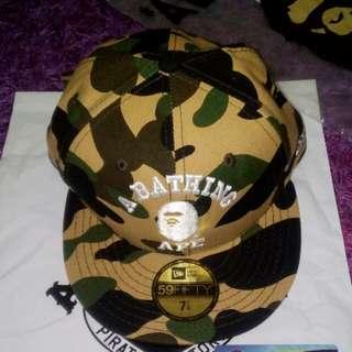 Bape x New Era Hat