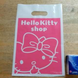 Hello Kitty 膠袋