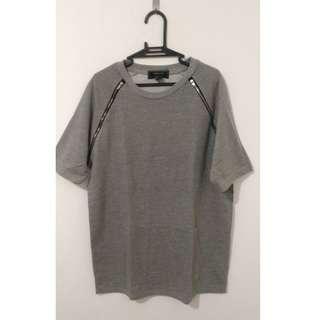 Forever 21 Zippered Shirt