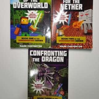Minecraft  - Gameknight999 Series Complete Set