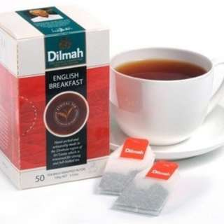 Dilmah English Breakfast 早餐茶 / Darjeeling Tea (50 Tea bags) 100g