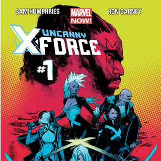 Uncanny X-Force v2 #1-4, 6