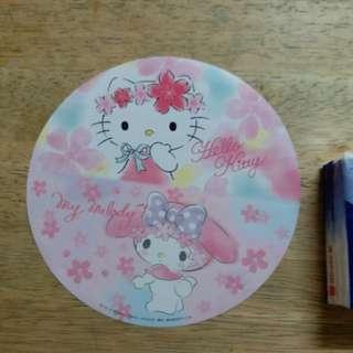Hello Kitty , My Melody 小禮物 貼紙