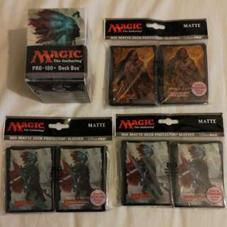 Magic the Gathering Sleeves n deckbox