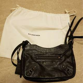 Balenciaga Black Leather Classic City bag