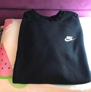 Nike 沒有帽衛衣 黑色