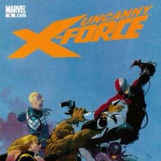 Uncanny X-Force v1 #5-15, 33, 35