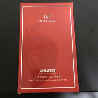 TST Apple Skin Mask 苹果肌面膜 ~ 5pcs per box