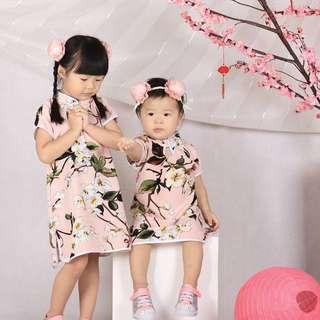 Cheongsam pink