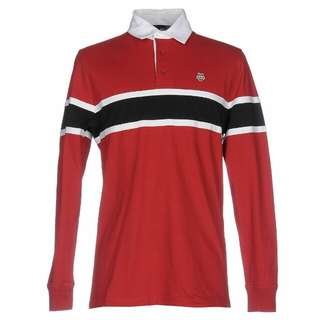 Love moschino red polo