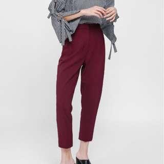 Love Bonito Pashenka High Waist Cropped Pants